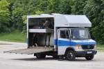 M-PM 8180 - MB Vario 813 D - Pferdetransporter - München
