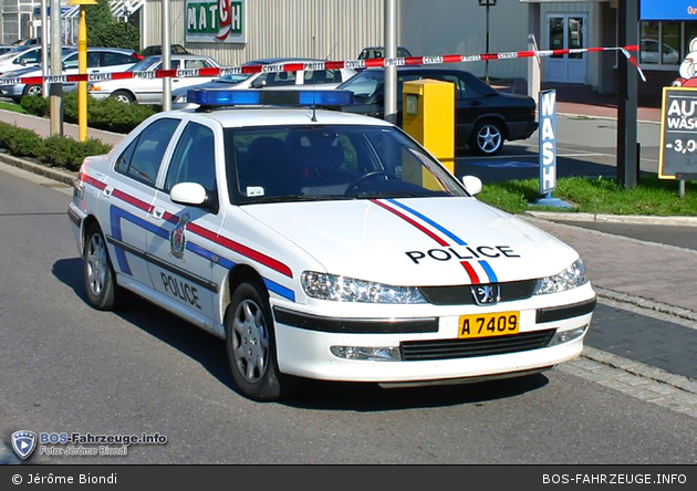 A 7409 - Police Grand-Ducale - FuStW (a.D.)