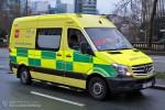 Bruxelles - Service d'Incendie et d'Aide Médicale Urgente - RTW - A39