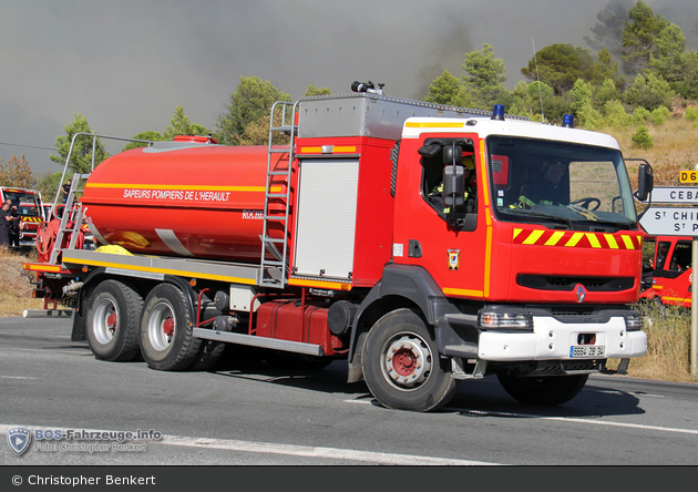 Saint-Pons - SDIS 34 - GTLF 20/125-1 - CCAM