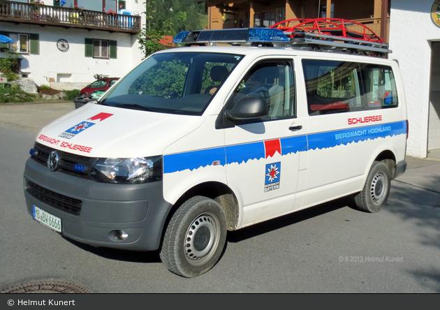 Bergwacht Ergänzungsfahrzeug Schliersee