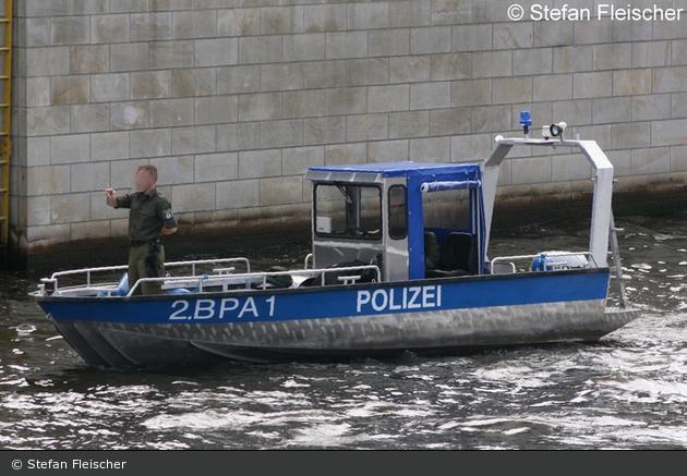 BePo - 2.BPA Berlin - Mehrzweckboot 1