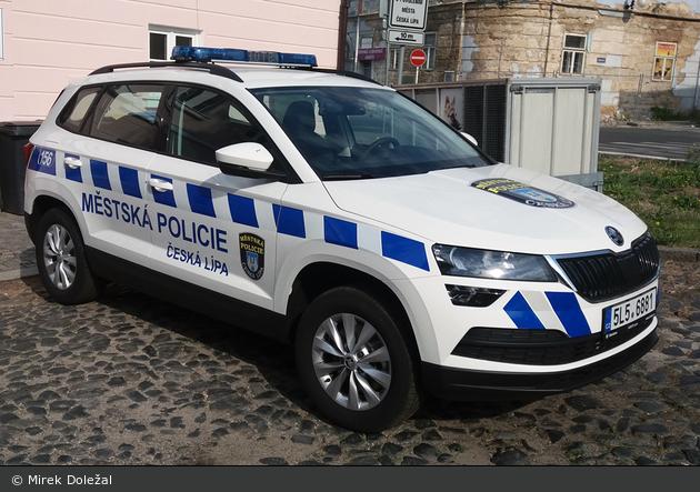 Česká Lípa - Městská Policie - FuStW
