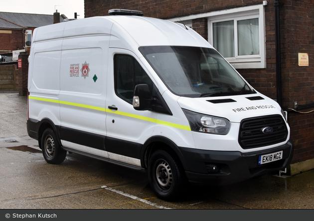 Cosham - Hampshire Fire and Rescue Service - Van