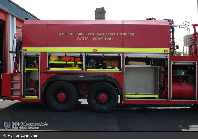 Huntingdon - Cambridgeshire Fire & Rescue Servive - WFU