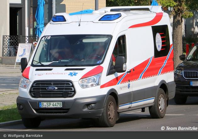 Krankentransport Spree Ambulance - KTW (B-SP 4478)