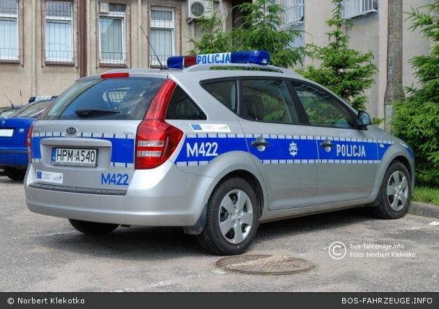 Augustów - Policja - FuStW - M422