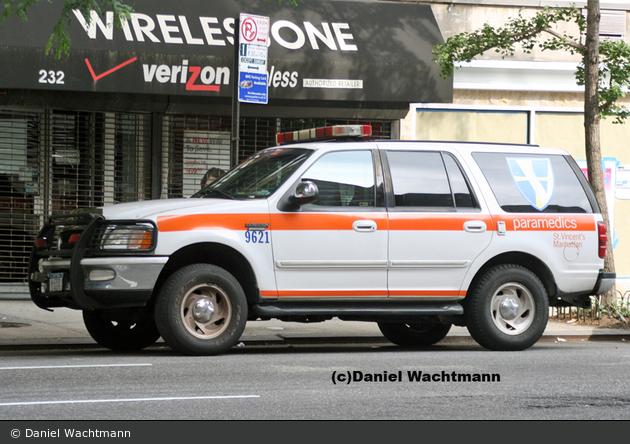 NYC - Manhattan - St. Vincent's Midtown Hospital - Supervisor 9621 - KdoW (a.D.)