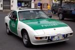 Marburg - Porsche 924 - FuStW (Oldie)