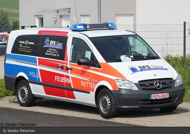 Mercedes-Benz Vito 116 CDI - Sonder Fahrzeug Service (SFS) Saar - MTW