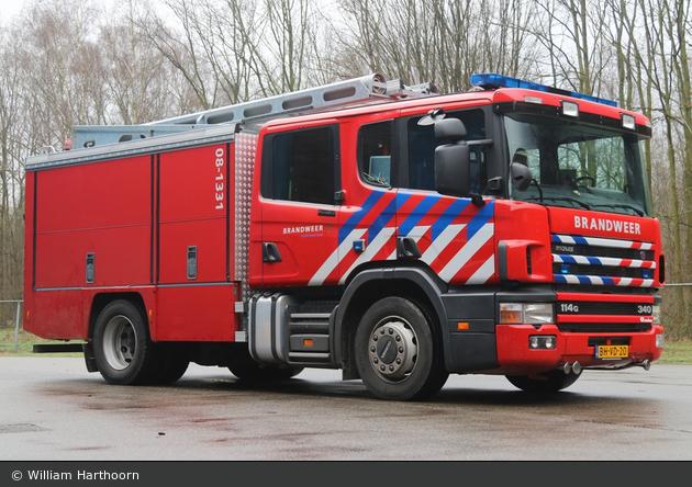Berg en Dal - Brandweer - HLF - 08-1331 (a.D.)
