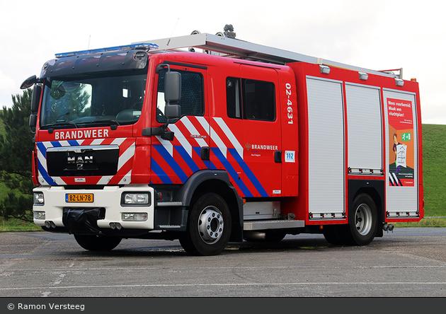 Harlingen - Brandweer - HLF - 02-4631