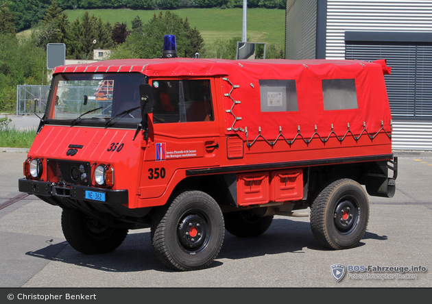 La Chaux-de-Fonds - SIS - GW-Höhenrettung - Castor 350