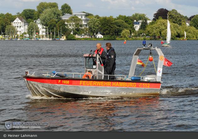Florian Hamburg Pöseldorf Kleinboot