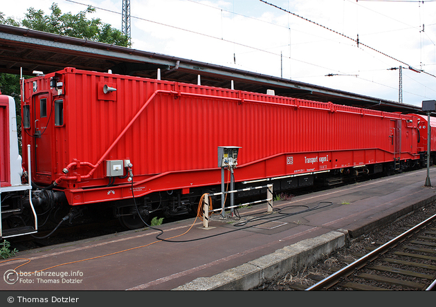 Kassel - Deutsche Bahn AG - Rettungszug (Transportwagen 1)