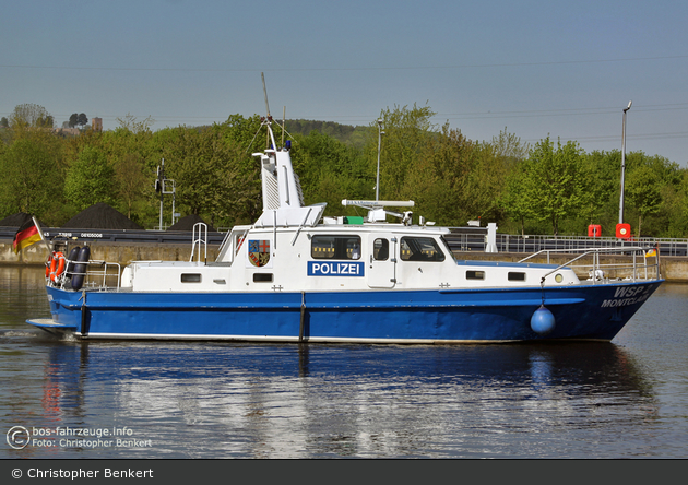 WSP2 Montclair - Schless-Werft - Dienstboot
