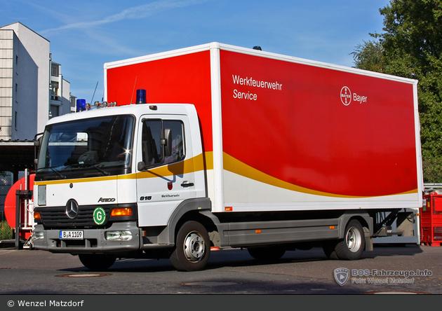 Florian WF Bayer Pharma LKW-Service