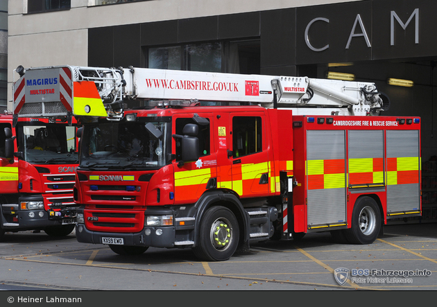 Cambridge - Cambridgeshire Fire & Rescue Service - MS