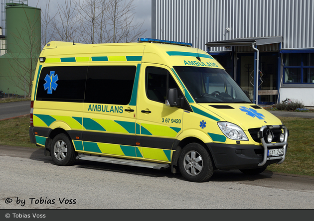 Tingsryd - Landstinget Kronoberg - Ambulans - 3 67-9420