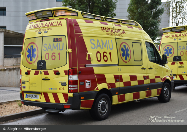 Palma de Mallorca - IB-Salut - Servei d'Atenció Mèdica Urgent - RTW - B04
