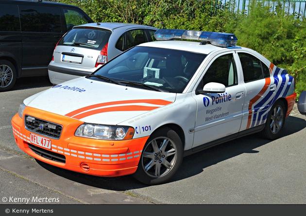 Jabbeke - Federale Politie - Wegpolitie - FuStW