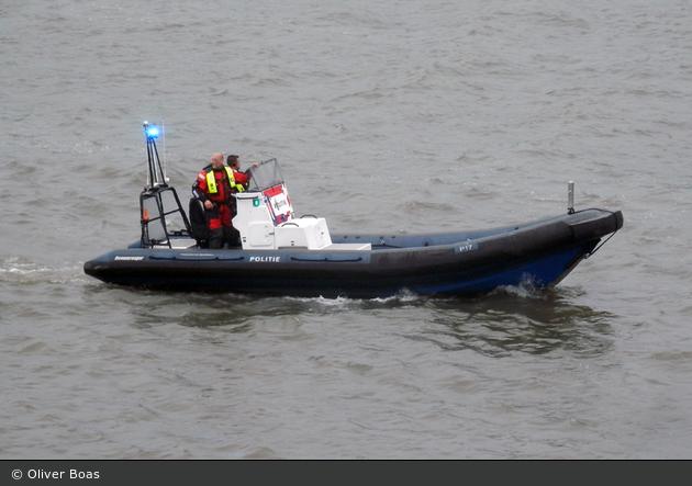Rotterdam - Politie - WP - Polizeiboot P17