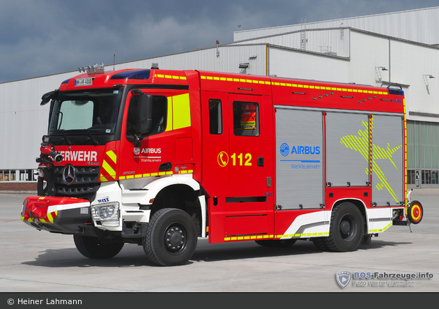 Florian Hamburg Airbus HLF 1 (HH-WF 4000)