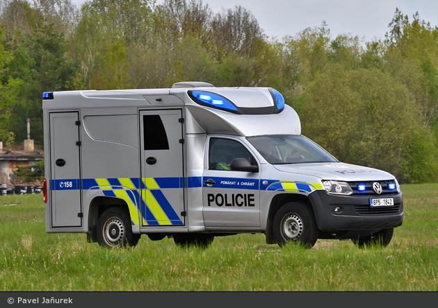 Plzeň-Venkov - Policie - Tatortfahrzeug