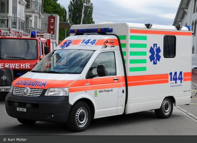 Amriswil - Spital Thurgau AG - RTW - SanThur 0240