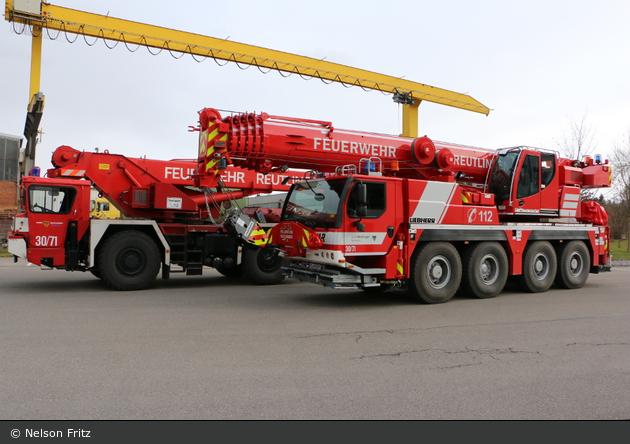 BW - BF Reutlingen - Feuerwehrkräne