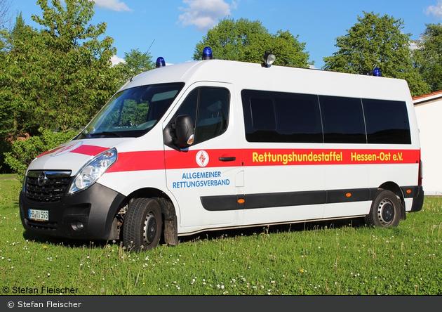 Bad Salzschlirf - ARV Rettungshundestaffel Hessen-Ost - MZF