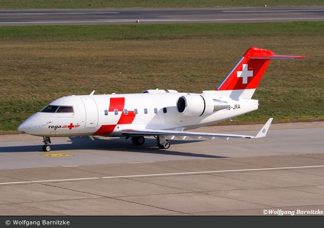 HB-JRA (c/n: 5529) - Rega - Ambulanzflugzeug