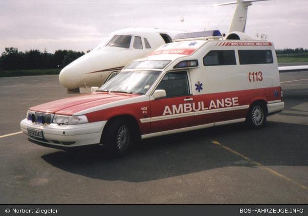 Ålesund - Møre og Romsdal Ambulanse - RTW - 1532-411 (a.D.)