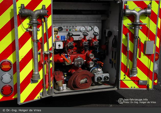 Wallsend - Tyne & Wear Fire & Rescue Service - WrL - Geräteraum GR