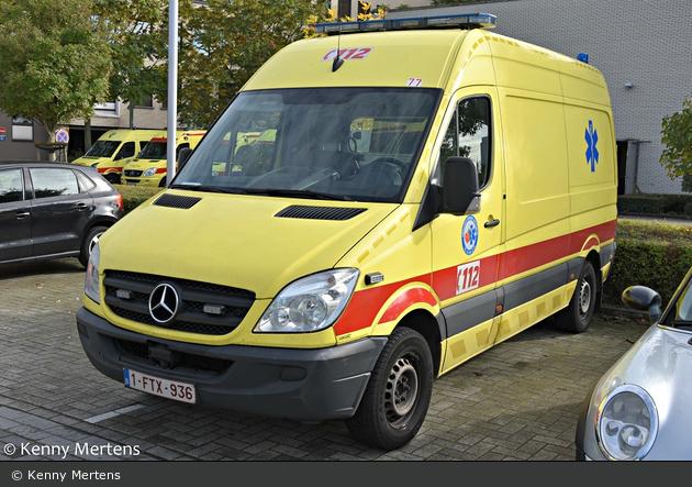 Rumst - Ambulancecentrum Antwerpen - RTW - 77