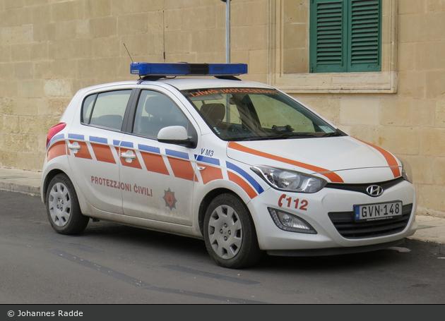 Floriana - Civil Protection Department - PKW - V M3