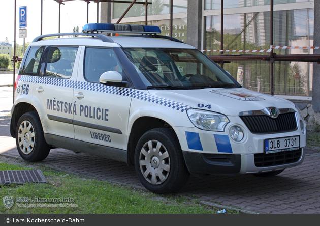 Liberec - Městská Policie - 04 - FuStW - 3L8 3731