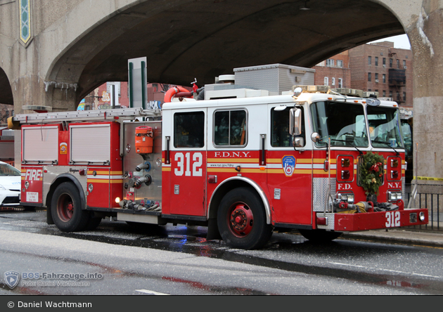FDNY - Queens - Engine 312 - TLF (a.D.)