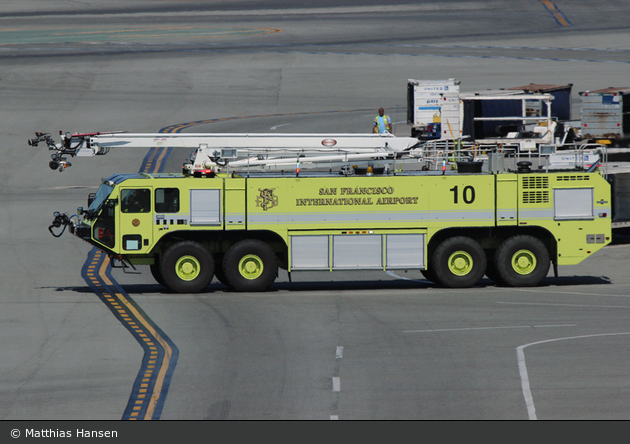 San Francisco - SFFD - Airport Division - Rescue 10