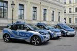 BY – LaPol - erste blaue Funkstreifenwagen