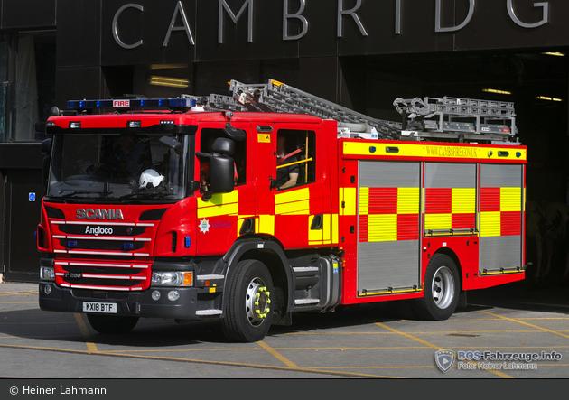 Cambridge - Cambridgeshire Fire & Rescue Service - WrL