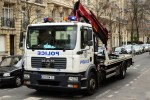 Paris - Police Nationale - D.O.S.T.L. - ASF