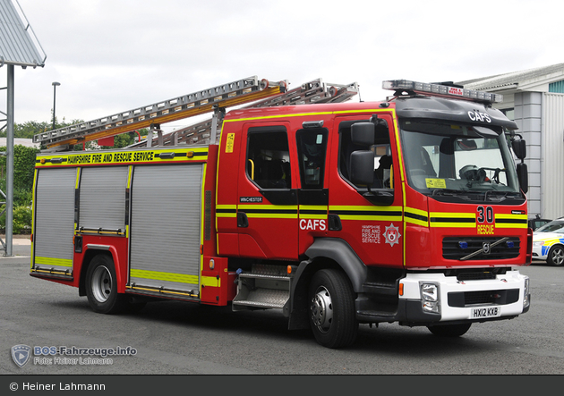 Winchester - Hampshire Fire and Rescue Service - RP