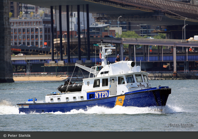 NYPD - Randall's Island - Harbor Unit - Boat 08