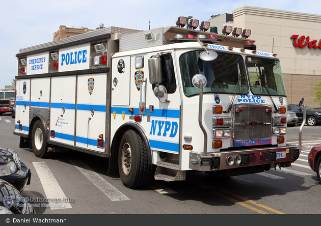NYPD - Brooklyn - Emergency Service Unit - ESS 8 - ESS 5708