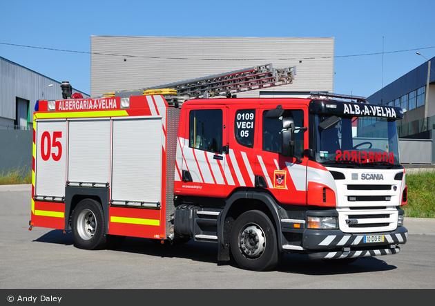 Albergaria-a-Velha - Bombeiros Voluntários - TLF - VECI 05