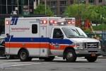NYC - Manhattan - NewYork-Presbyterian EMS - ALS-Ambulance 1818 - RTW