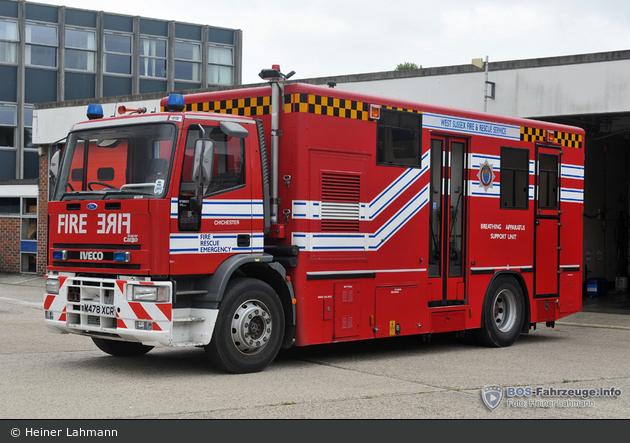 Chichester - West Sussex Fire & Rescue Service - BASU