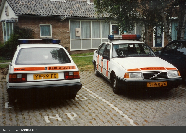NL - Middelharnis - ehem. Rijkspolitie - FuStW (a.D.)