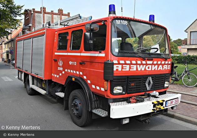 Gistel - Brandweer - GW - M108 (a.D.)